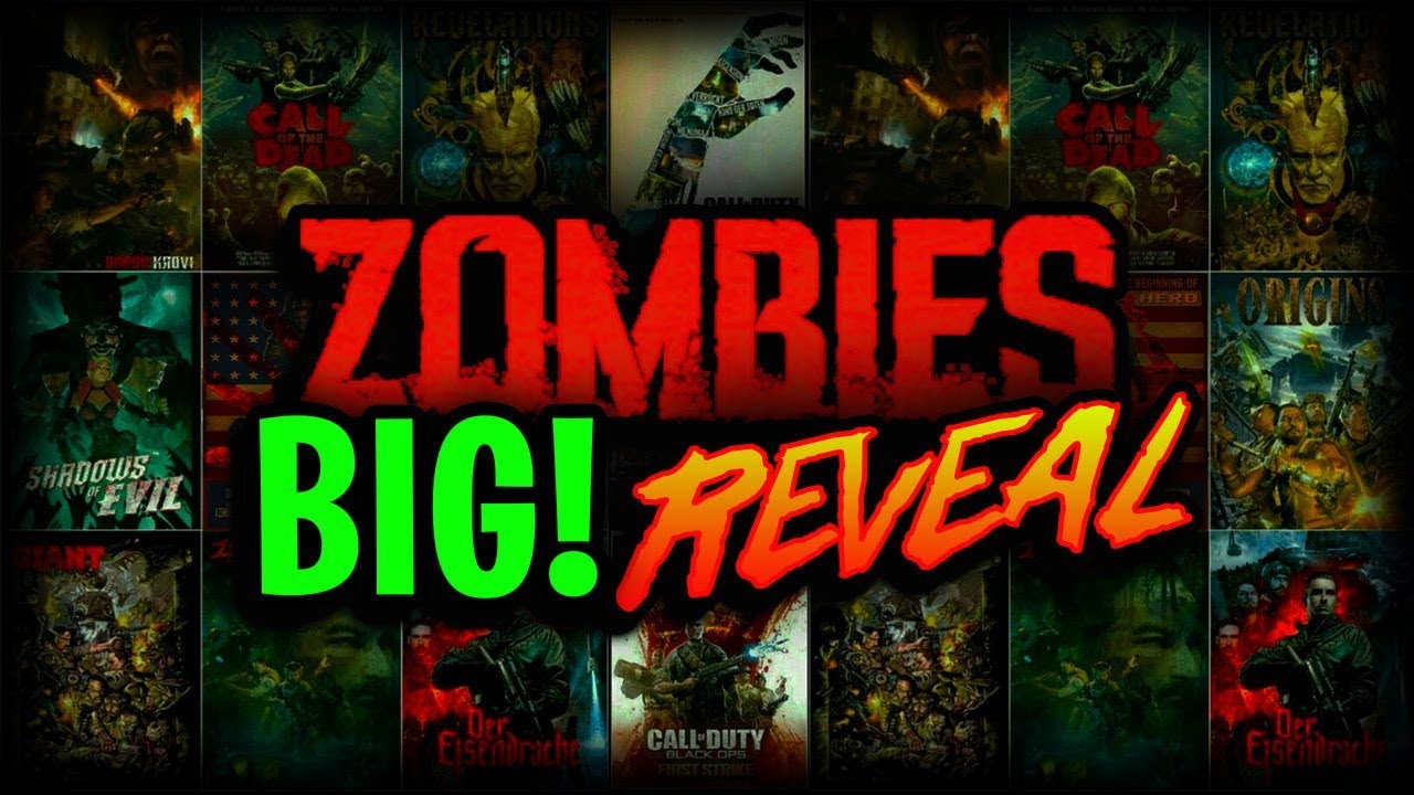 BIG! ZOMBIES REVEAL COMING -Treyarch 2018 E3 Event Details