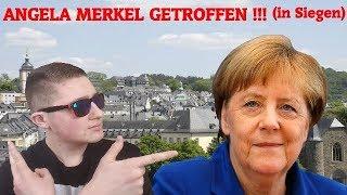Angela Merkel getroffen !!! ( in Siegen) / MyFly