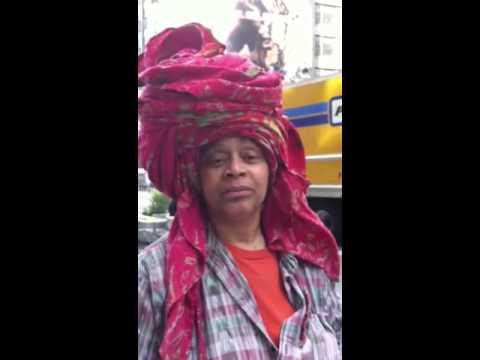 Chakaia Booker Interview on Broadway Art Installation