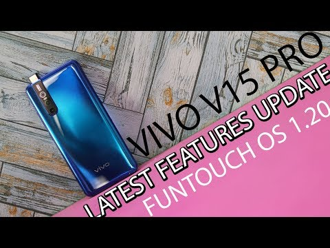 Vivo V15 Pro New Features Funtouch OS 9 - Dark mode, Always