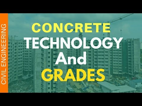 Concrete Technology In Hindi || Concrete Grades