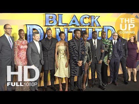 Black Panther premiere photocall & arrivals: Chadwick Boseman, Daniel Kaluuya, Lupita Nyong