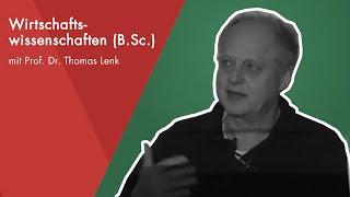 Online-Schnuppervorlesung mit Prof. Dr. Thomas Lenk | Wirtschaftswissenschaften (B.Sc.)