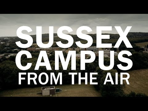 SUSSEX CAMPUS FROM THE AIR