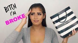 B*TCH I'M BROKE MAKEUP HAUL // Kylie Cosmetics, Morphe & more!