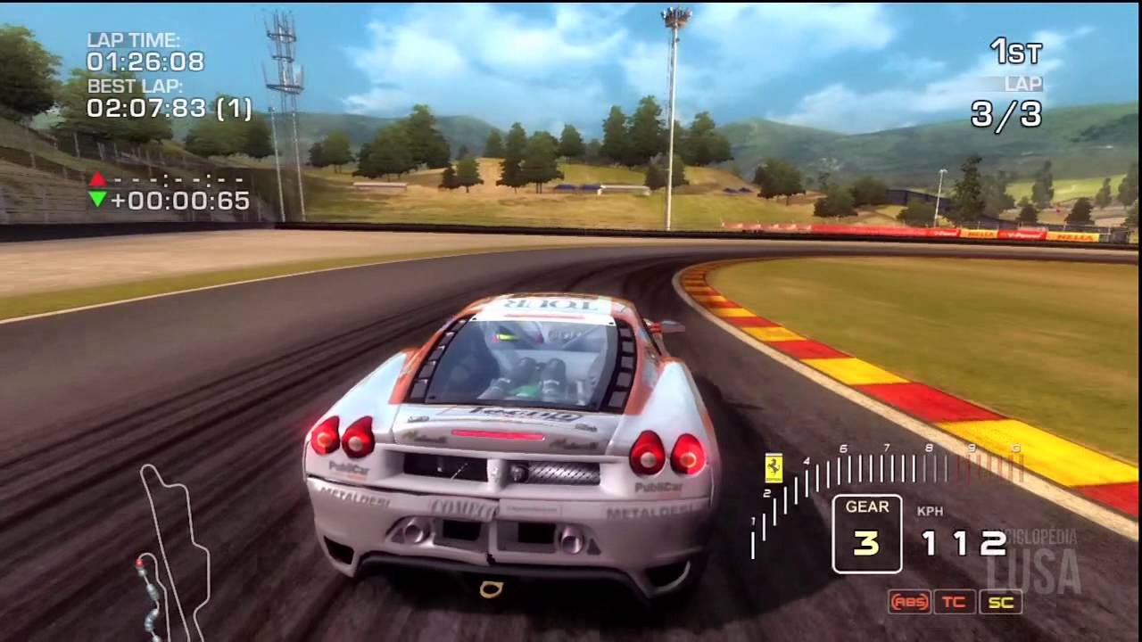 Ferrari Challenge Trofeo Pirelli 2008 Gameplay Youtube