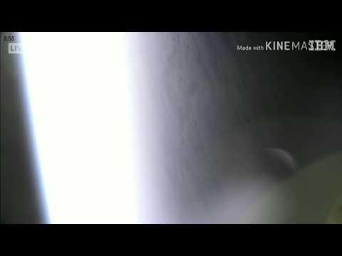 НЛО с камеры МКС в реальном времени.