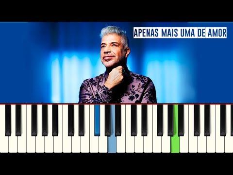 💎Lulu Santos - Apenas Mais Uma de Amor - Piano tutorial - Master Teclas💎