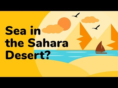 The Sahara Sea Project | Info Frames