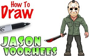 How to Draw Jason Voorhees | Friday the 13th