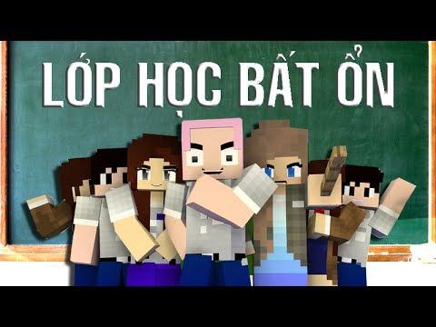 Phim hoạt hình LỚP HỌC BẤT ỔN | Phiên bản Minecraft