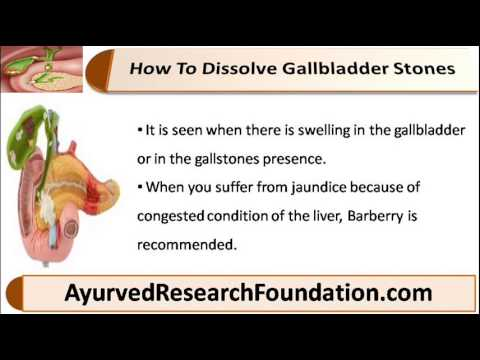 Natural Remedies To Remove Gallbladder Stones