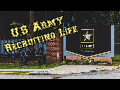 U.S Army Recruiting Life (Day In The Life Vlog 2)