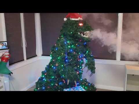 Treezilla! The Godzilla Christmas Tree