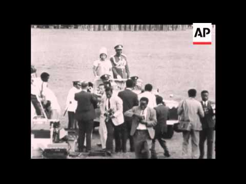 CAN979 FILE / ARCHIVE FOOTAGE OF  PRESIDENT AZIKIWE OF NIGERIA