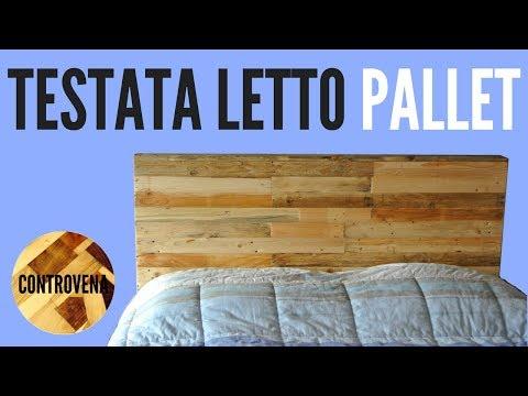 Testiera Letto Singolo Ad Angolo.Testata Letto Con Pallet Fai Da Te Pallet Headboard Diy Youtube
