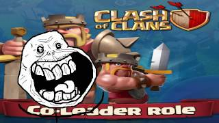 Clash of clans - Co leader promotion ( everyone gets elder now yay! )