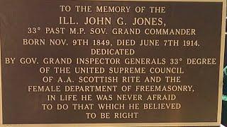 Christopher  Jackson  of St. John Grand Lodge of Chicago Illinois