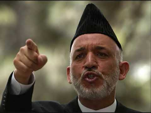 Interview With Hamed Karzai,Afghan Election 2009,Very Funny