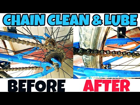HOW TO CLEAN & LUBE YOUR CYCLE CHAIN AT HOME|Raaz stunts