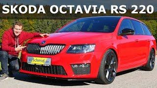 250 Km/h mit einem Combi? SKODA OCTAVIA RS Combi 220 | Review und Fahrbericht | Fahr doch