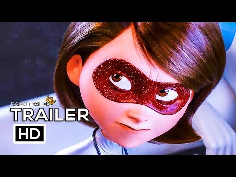 INCREDIBLES 2 Official Trailer #3 (2018) Disney Animated Superhero Movie HD