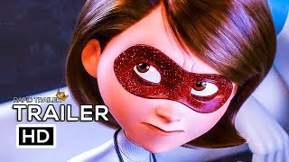 INCREDIBLES 2 Official Trailer #3 (2018) Disney Animated Superhero Movie HD thumbnail