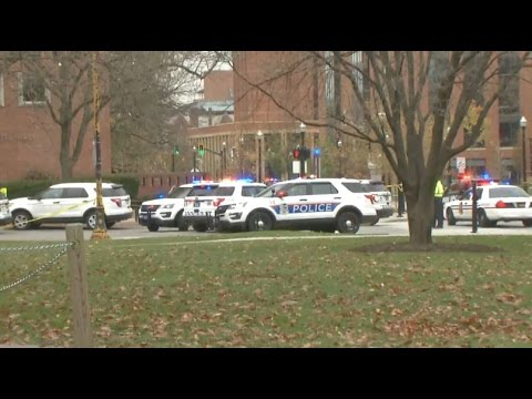 RAW VIDEO: Active shooter reported on Ohio State University Campus