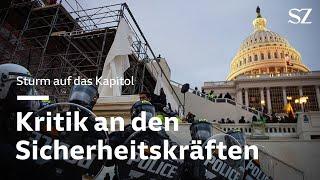 Nach Sturm auf Kapitol: Kritik an den Sicherheitskräften