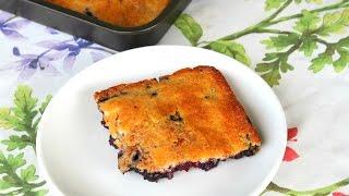 Blueberry Cobbler Recipe - In The Kitchen With Jonny Episode 83