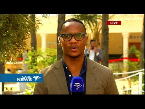 The ANC Nec meeting in Pretoria: Aldrin Sampear