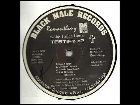 Romanthony - Testify (Soul Vamp)
