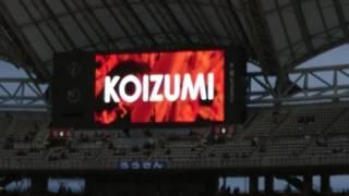 2017/07/01 アルビレックス新潟VSジュビロ磐田 アルビレックス新潟スタ...