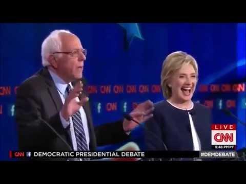 "CNN Democratic Debate : Bernie Sanders moment of the night - ""Damn E-mails"""