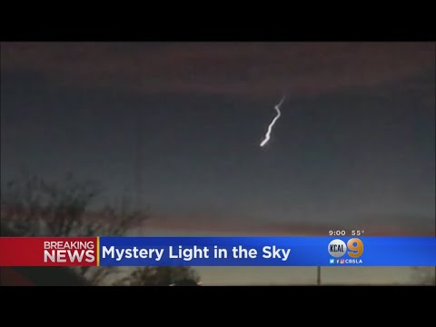 Mysterious Light In The Sky Seen Across California Likely A Meteor