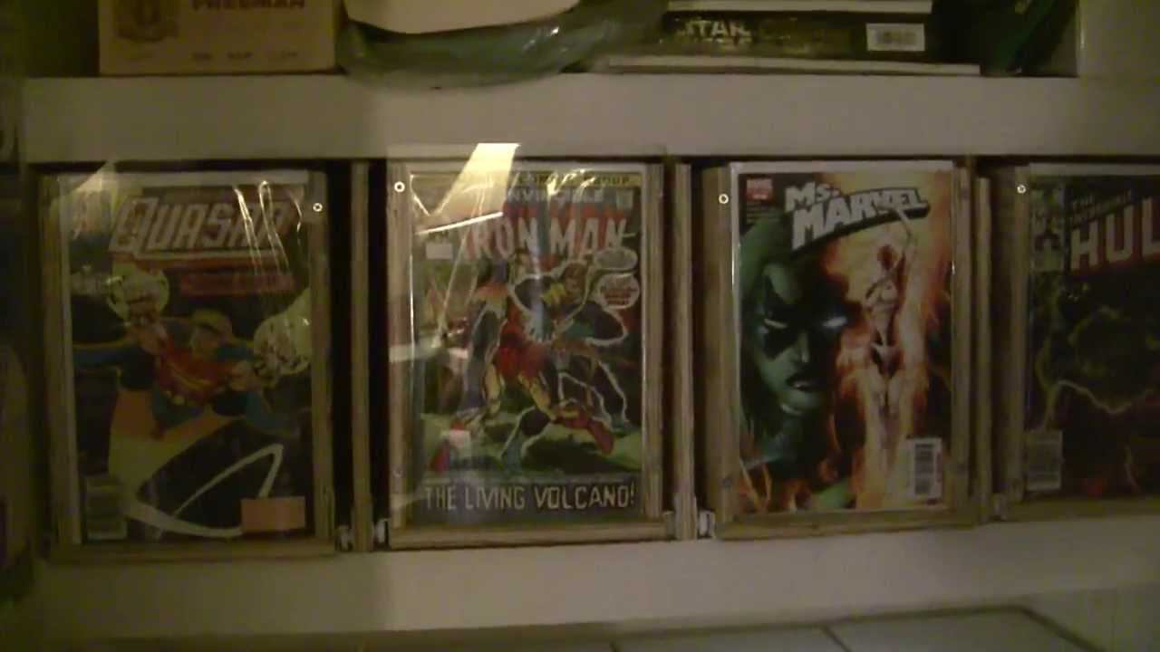 Comic Book Storage Cabinets Home Made Comic Box Drawers For Easy Storage Youtube