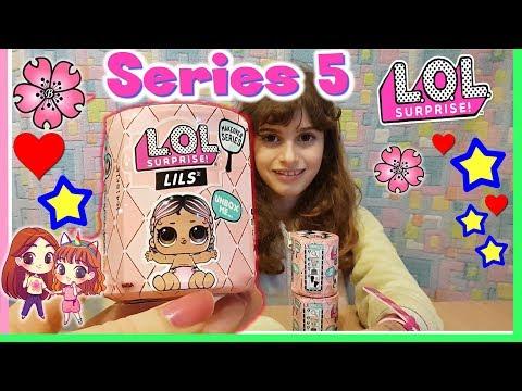 SERIE 5 LOL SURPRISE!! Unboxing LILS..... Lil Sister o MINI PETS?! By Lara e Babou