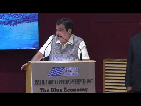SHRI NITIN GADKARI  GIVING KEYNOTE ADDRESS  AT  ANNUAL MARITIME POWER CONFERENCE(AMPC)- 2017
