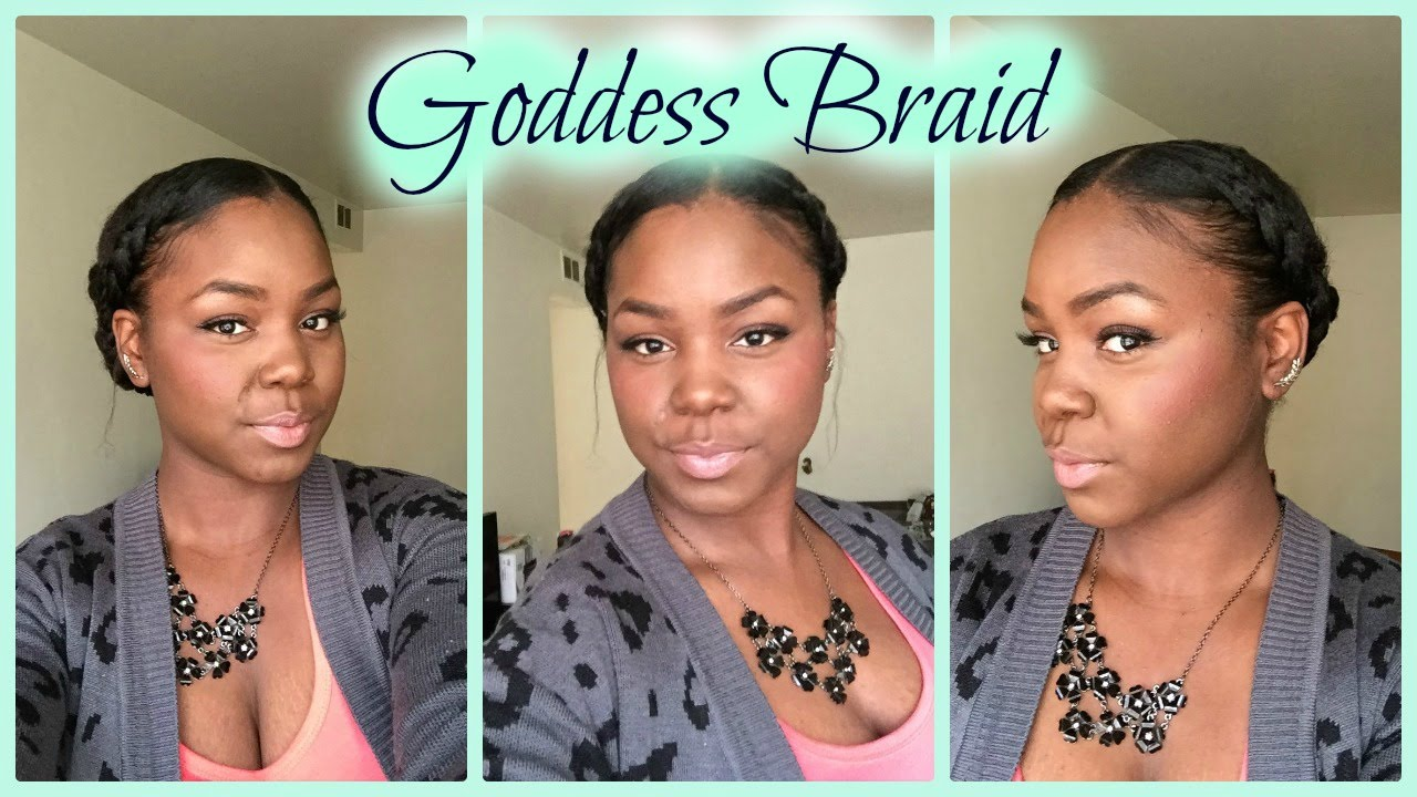 protective braid styles for relaxed hair protective style goddess braid relaxed hair 8592