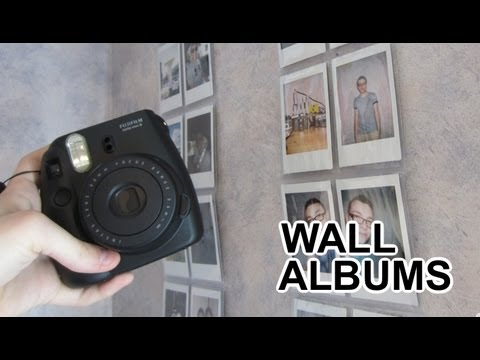 Fujifilm Instax Mini Camera Wall Albums Youtube