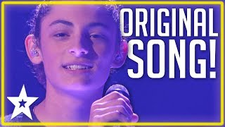 Teenager Sings Original Song At The Finals on America's Got Talent | Kids Got Talent
