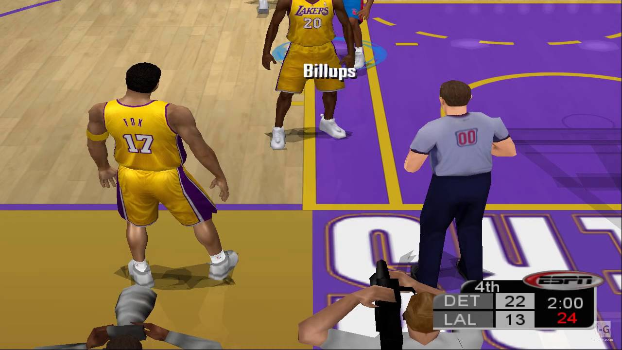 ESPN NBA Basketball PS2 Gameplay HD - YouTube