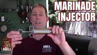 Grill Beast's Marinade Injector Kit For Improved Flavor