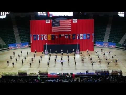 Heath High School HighSteppers Team Pom at ADTS Nationals 2017