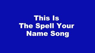 Daniel: The Caring Music Spell Your Name Song - Acapella