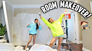 Ultimate ROOM MAKEOVER! Finally painting and decorating my bedroom