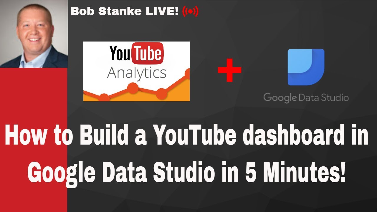 How to Build a YouTube Analytics Dashboard in Google Data Studio in 5  Minutes!