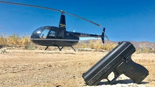 Dropping a Hi-Point Pistol from a Helicopter. will it still work? (GoPro Drop test)