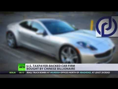 Sold to China: US electric car company purchased by Chinese billionaire