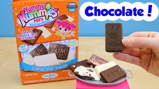 Yummy Nummies Candy Bar Maker Mini Milk And White Chocolate